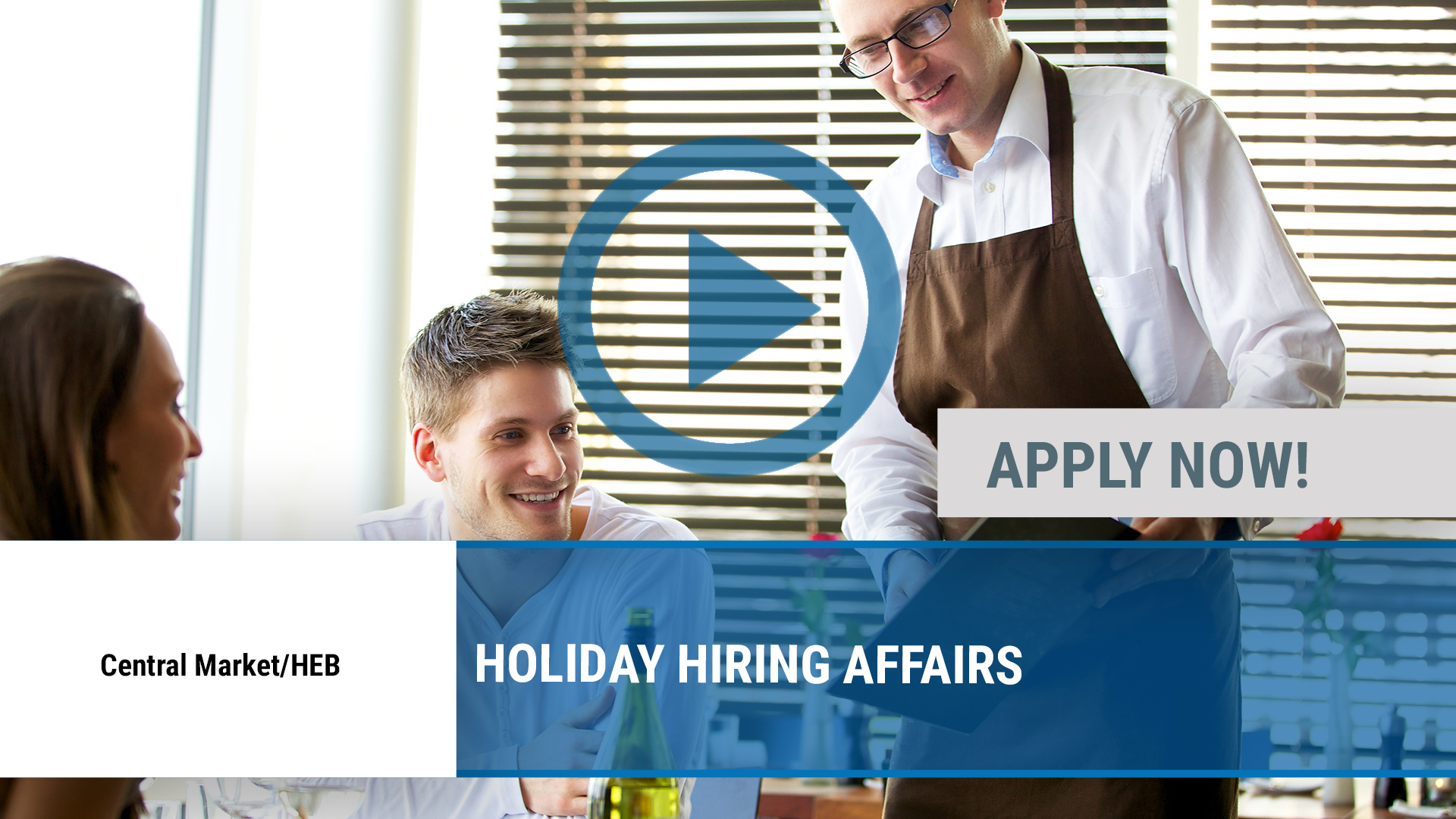 Watch our careers video for available job opening HOLIDAY HIRING AFFAIRS in Dallas, TX