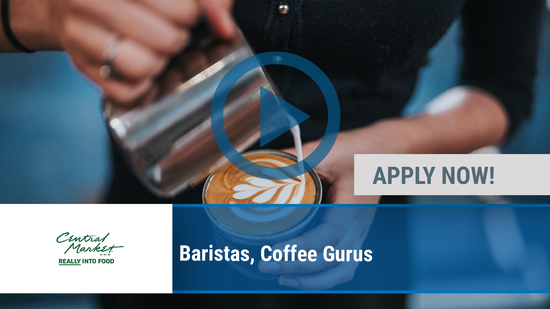 Watch our careers video for available job opening Baristas, Coffee Gurus in Dallas, TX