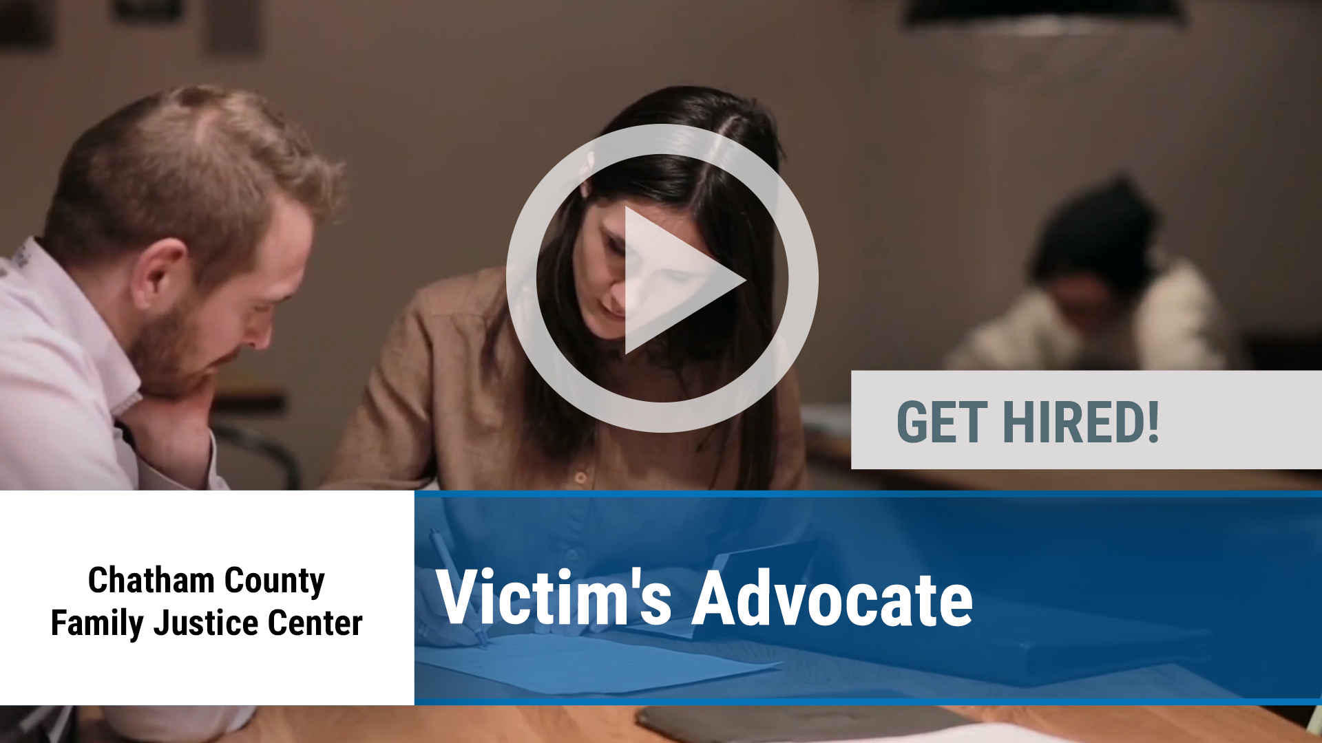 Watch our careers video for available job opening Victim's Advocate in Savannah, GA
