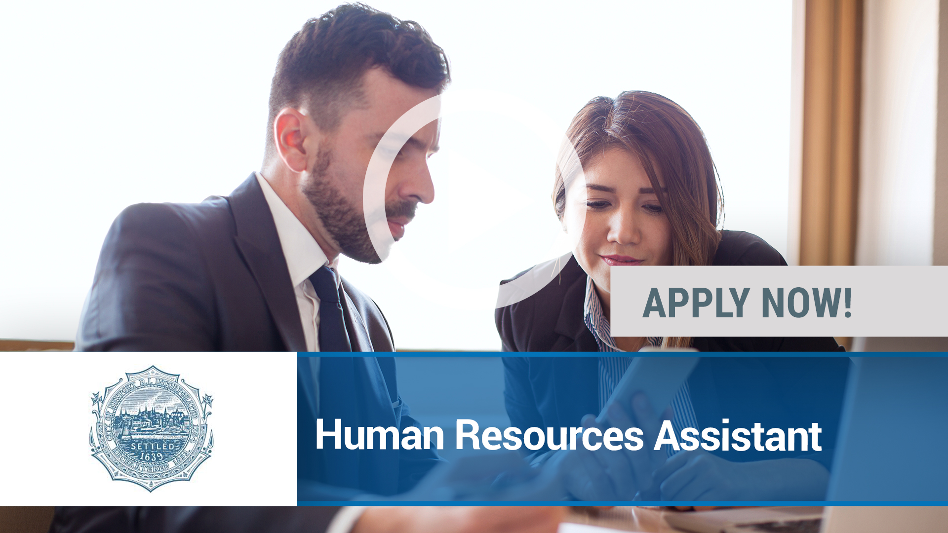 Watch our careers video for available job opening Human Resources Assistant in Newport, RI