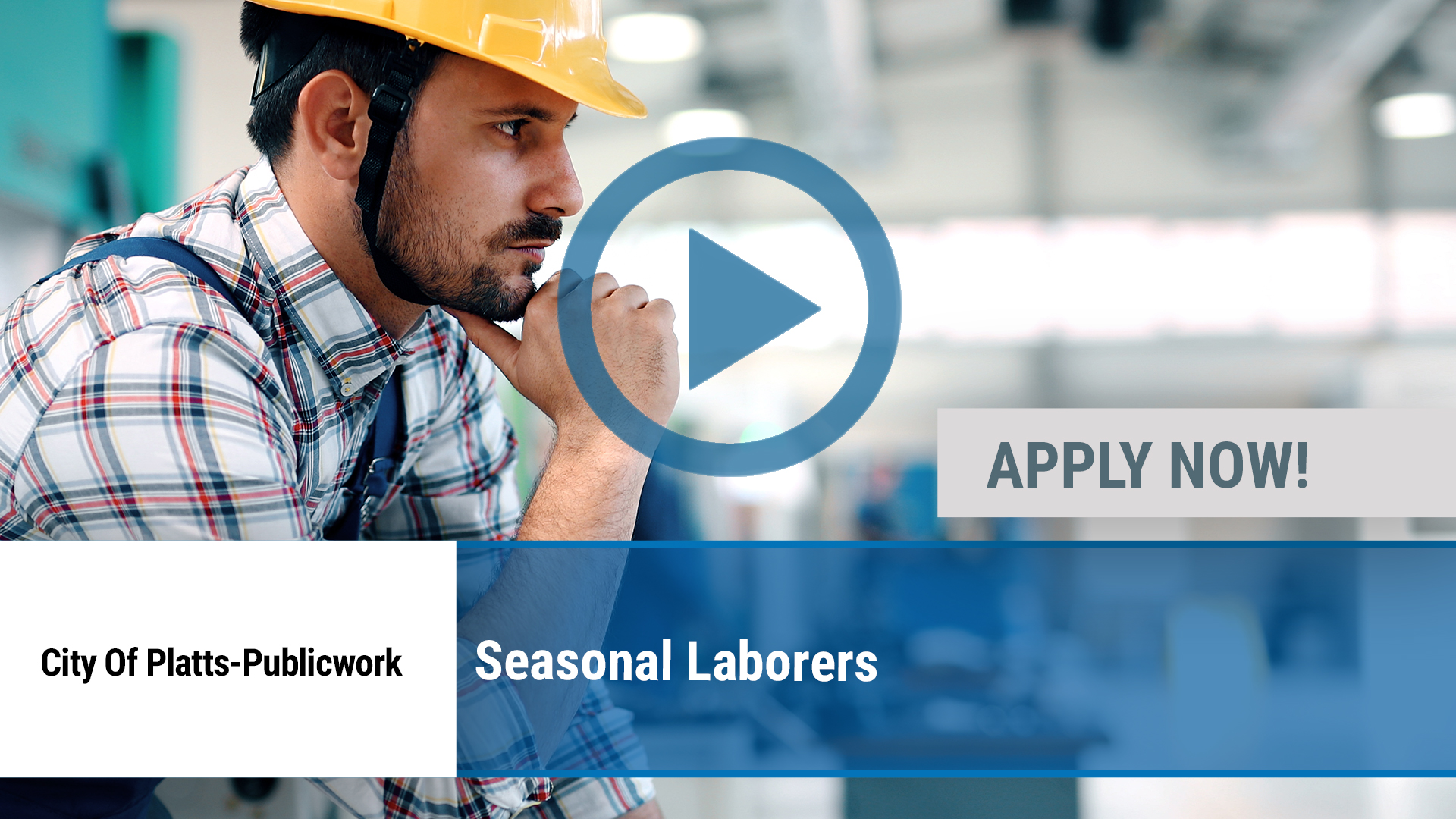 Watch our careers video for available job opening Seasonal Laborers in Plattsburgh, NY