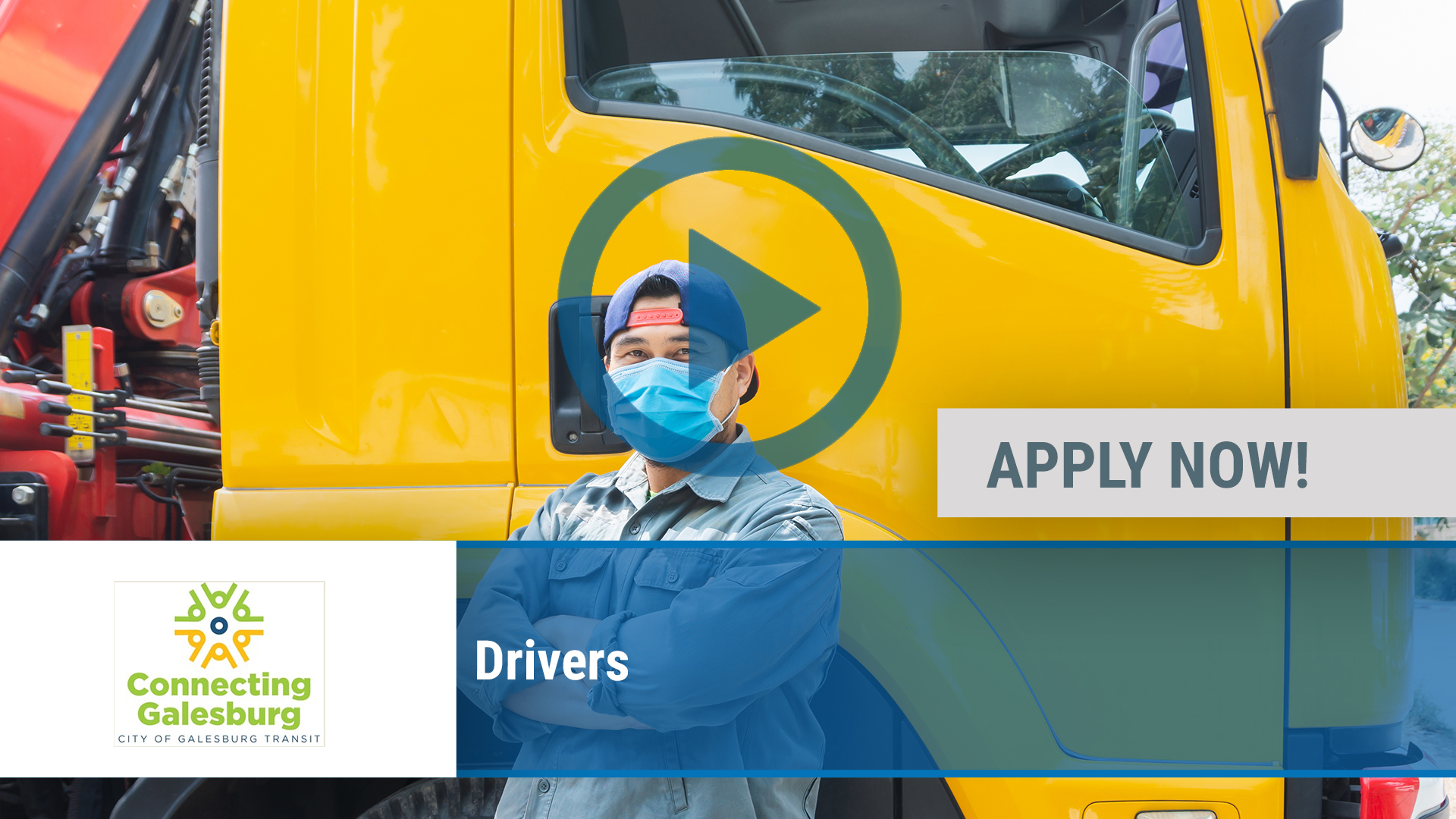Watch our careers video for available job opening Drivers in Galesburg, IL