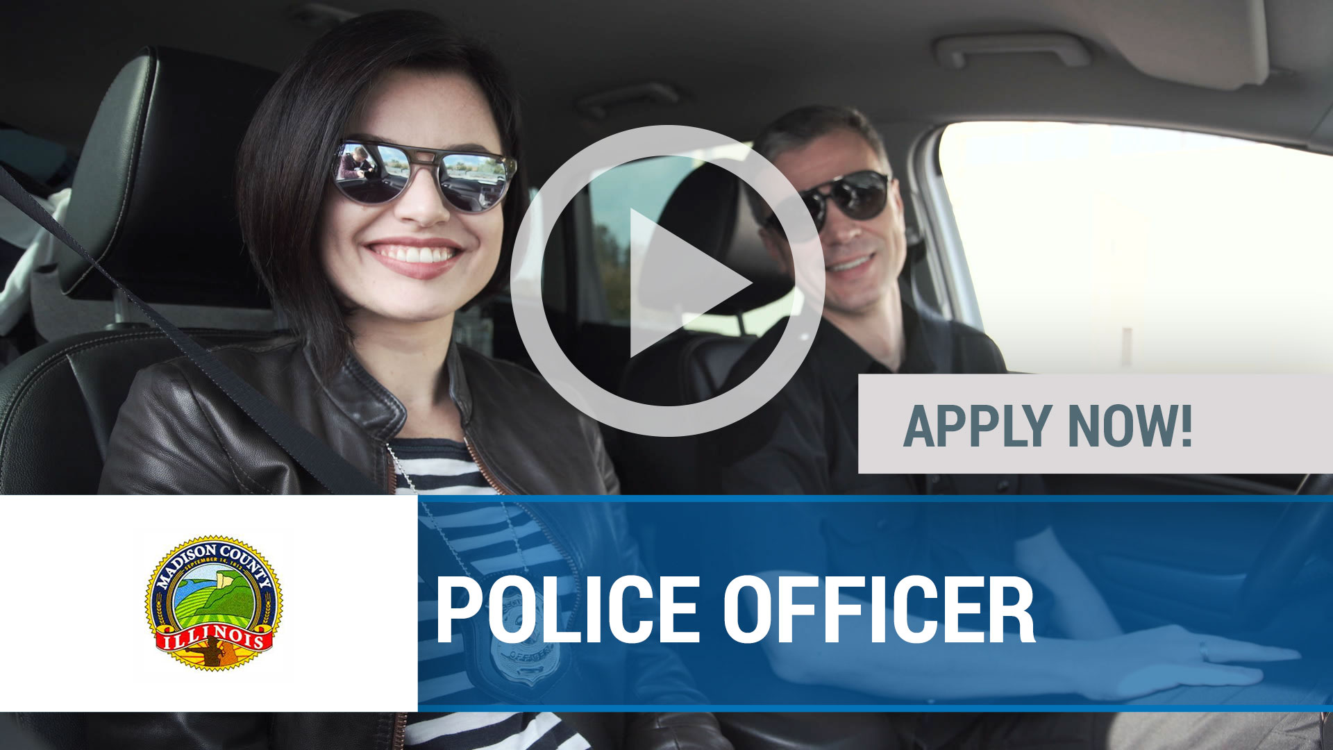Watch our careers video for available job opening POLICE OFFICER in Madison, IL, USA
