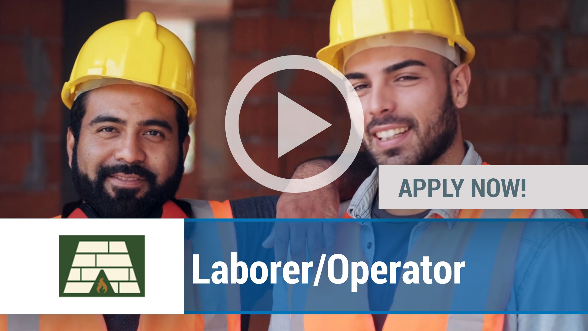 Watch our careers video for available job opening laborer_operator in State College, PA, USA
