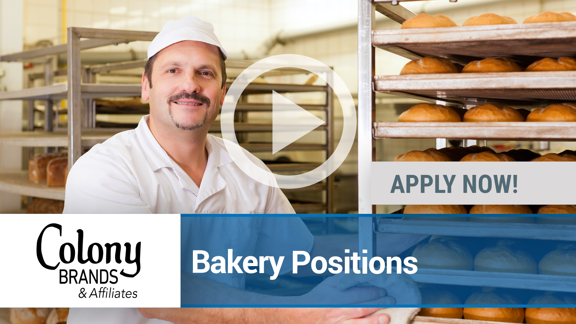 Watch our careers video for available job opening Bakery Positions in Monroe, WI