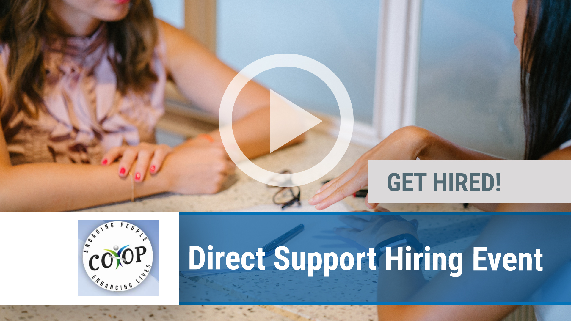 Watch our careers video for available job opening Direct Support Hiring Event in Dighton, MA