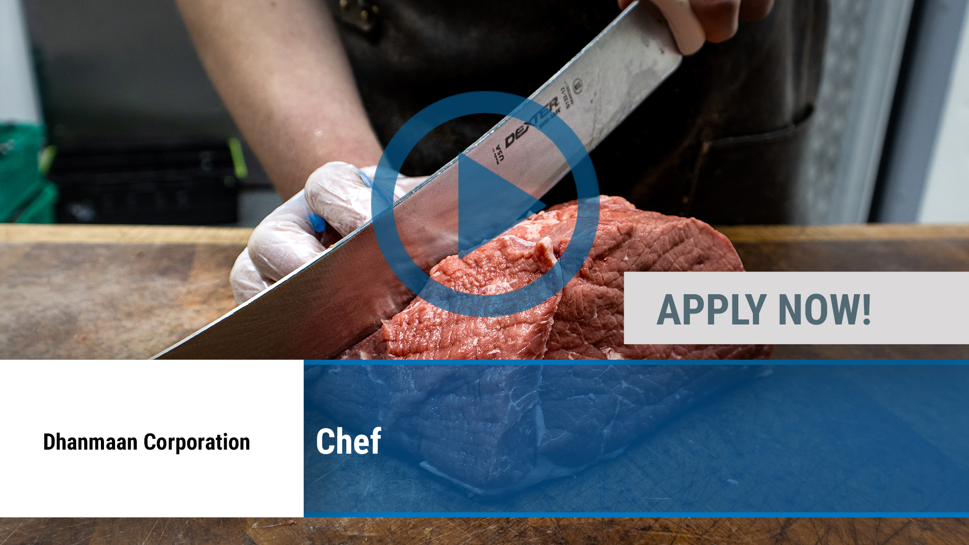 Watch our careers video for available job opening Chef in Irving, TX