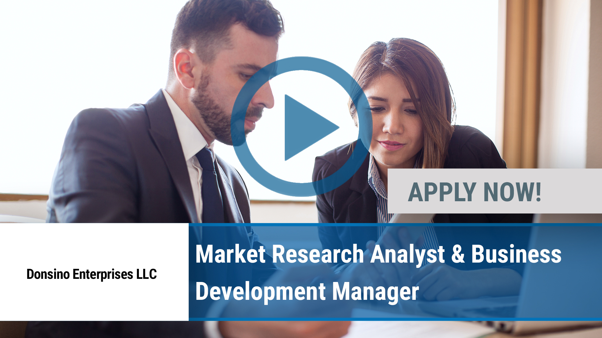 Watch our careers video for available job opening Market Research Analyst & Business Development Ma in Richardson, TX