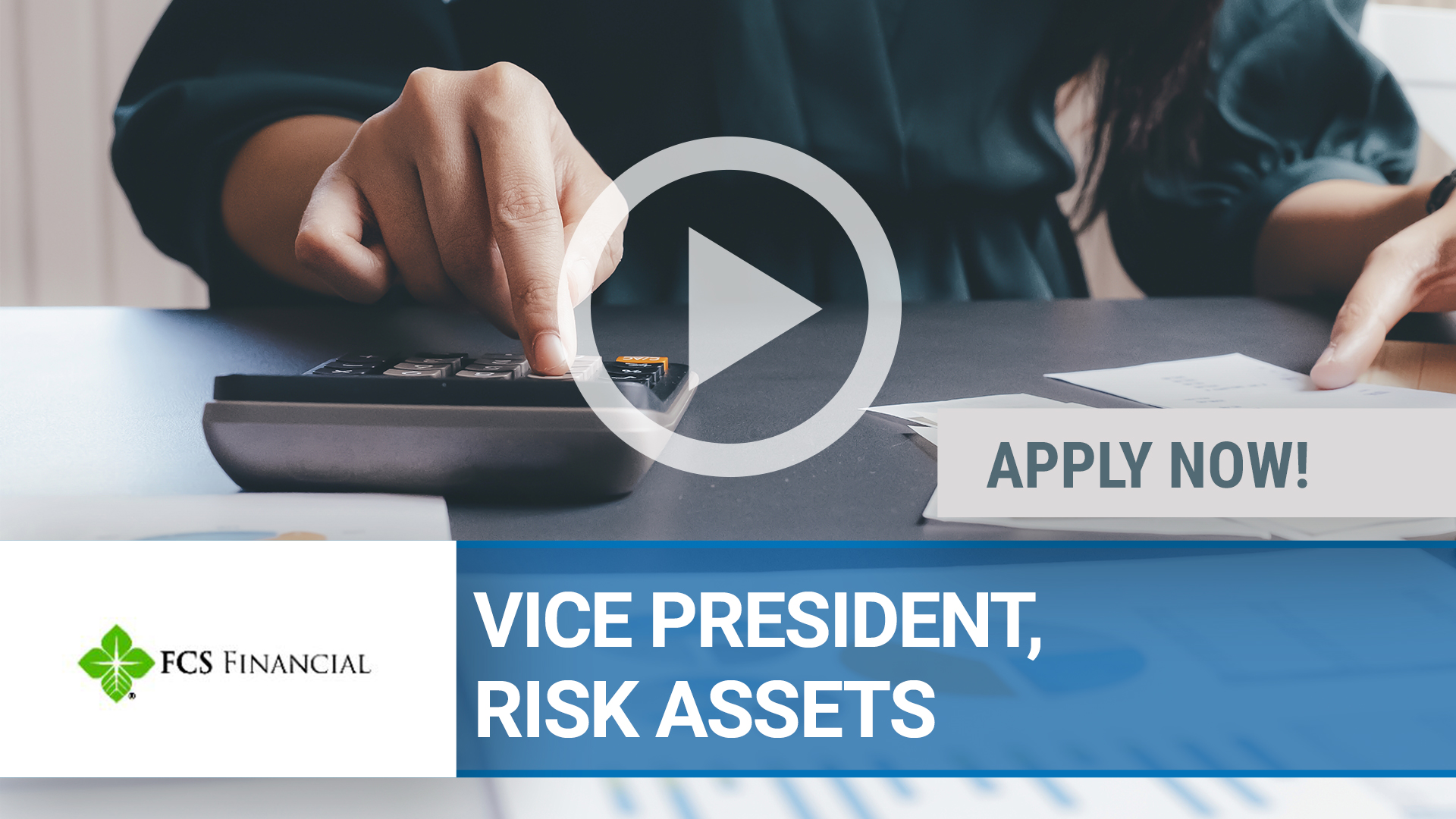 Watch our careers video for available job opening VICE PRESIDENT, RISK ASSETS in Harrisonville, MO
