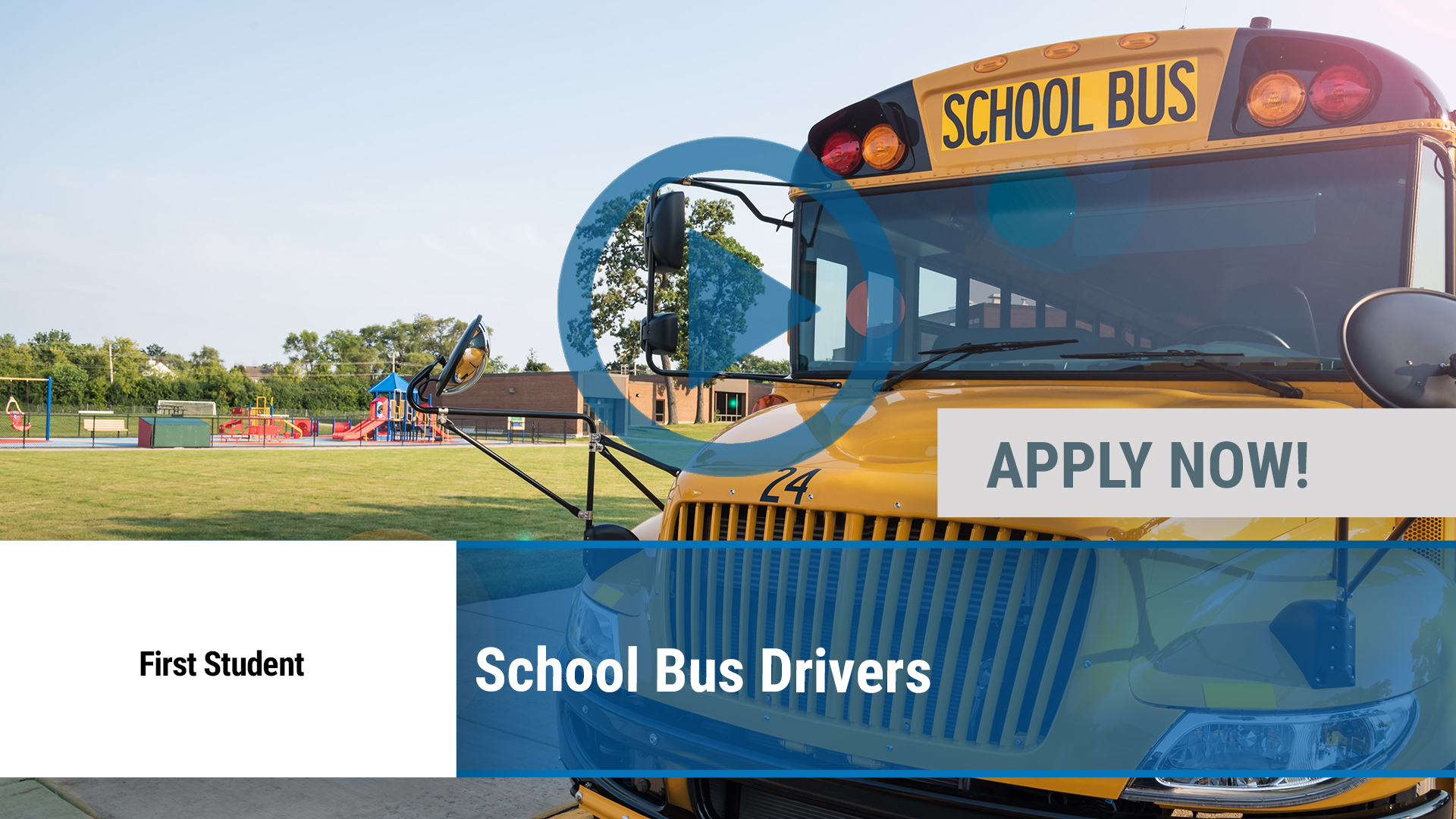 Watch our careers video for available job opening School Bus Drivers in Newark, NJ