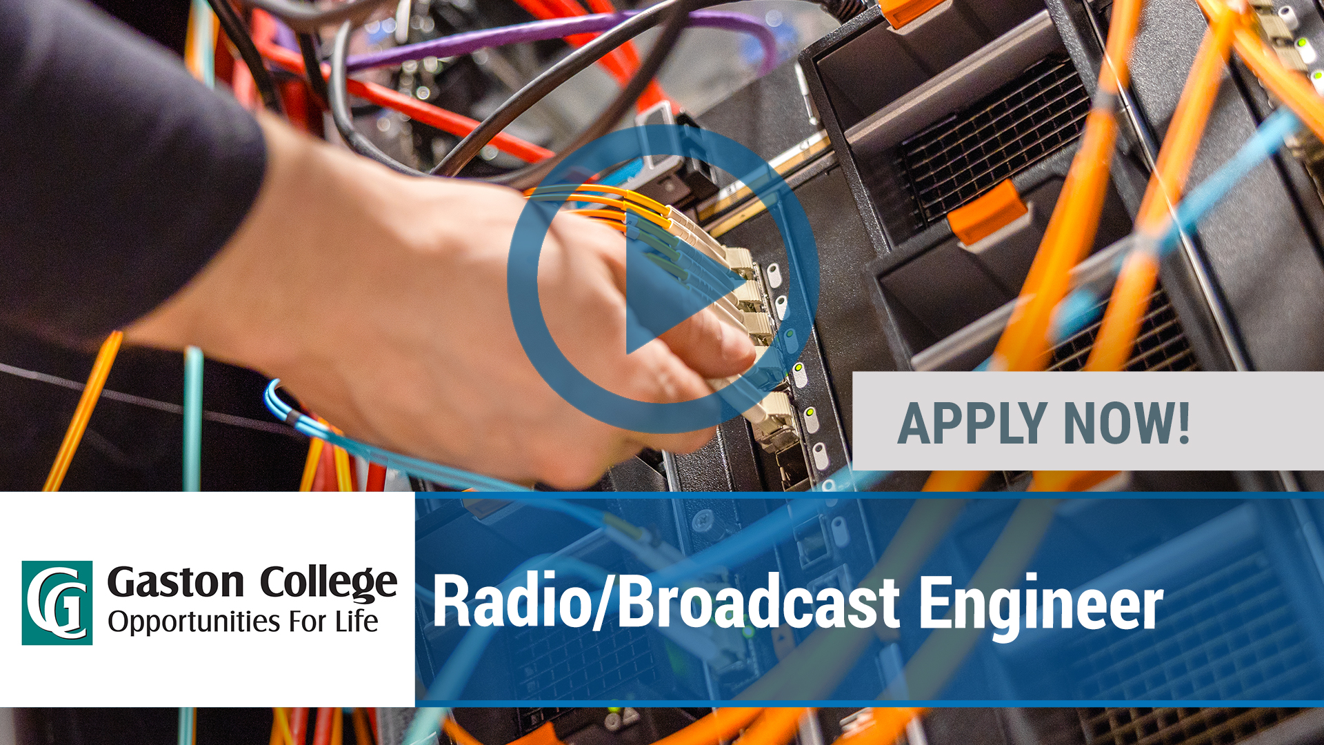 Watch our careers video for available job opening Radio_Broadcast Engineer in Charlotte, NC