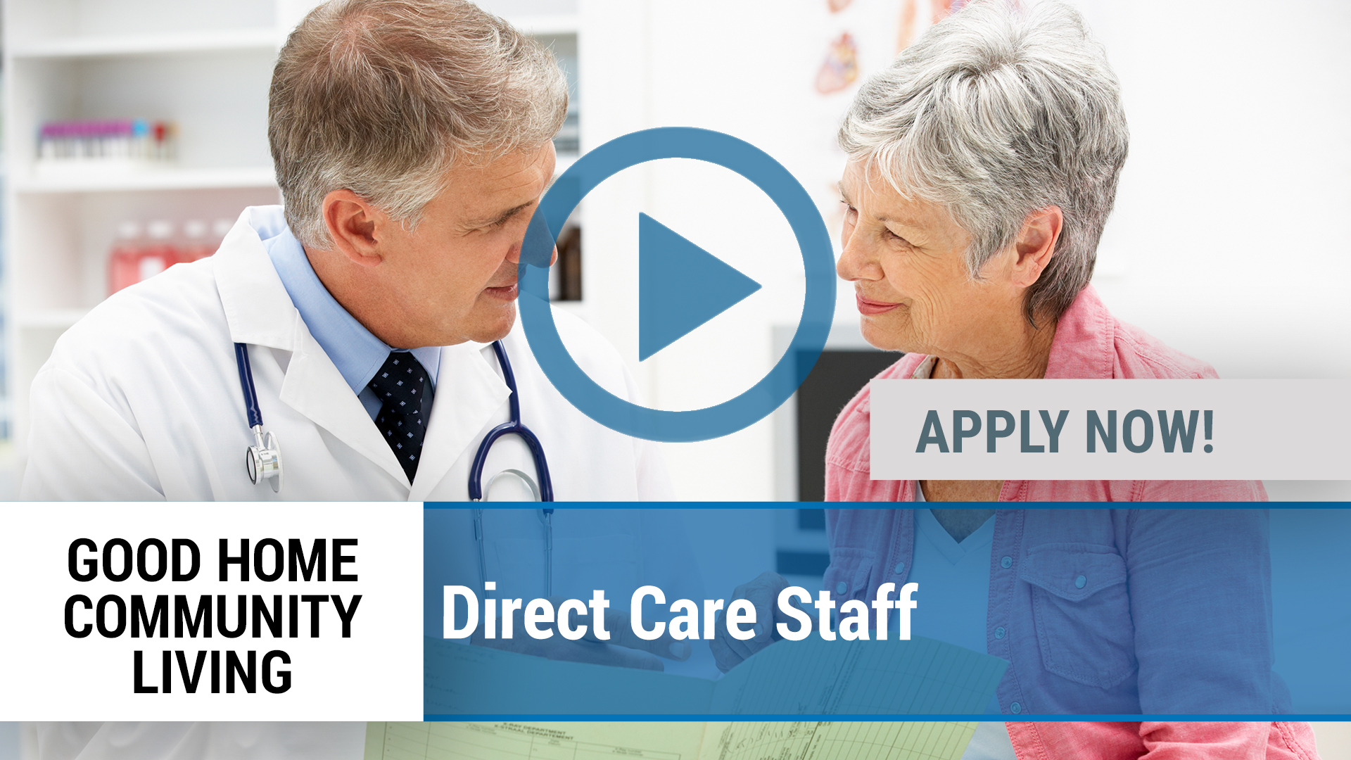 Watch our careers video for available job opening Direct Care Staff in Dallas, TX