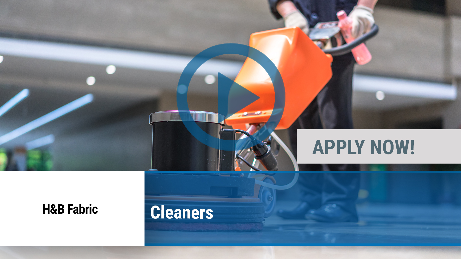 Watch our careers video for available job opening Cleaners in Peoria, IL