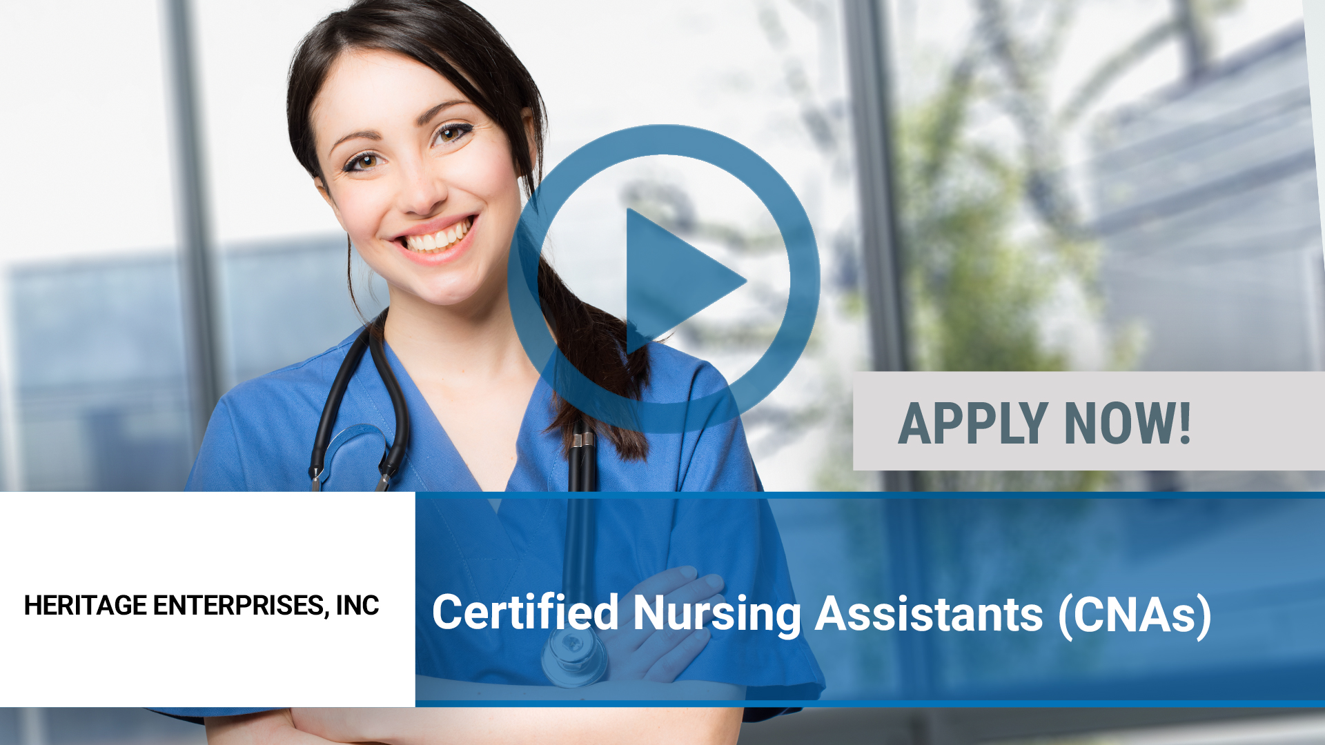 Watch our careers video for available job opening Certified Nursing Assistants (CNAs) in Chillicothe, IL