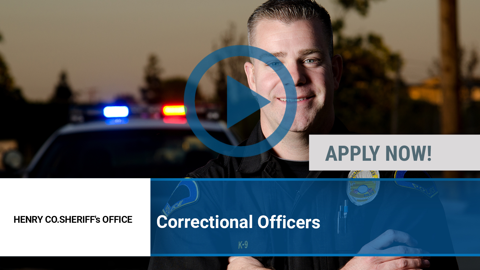 Watch our careers video for available job opening Correctional Officers in Cambridge, IL