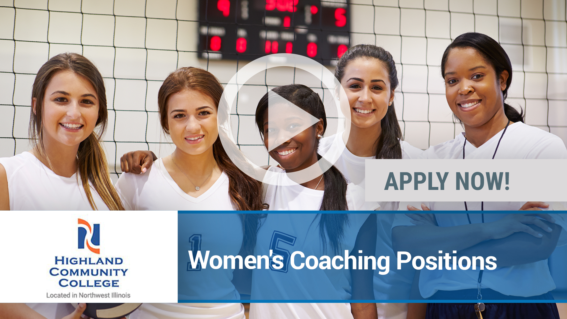 Watch our careers video for available job opening Women's Coaching Positions in Freeport, IL