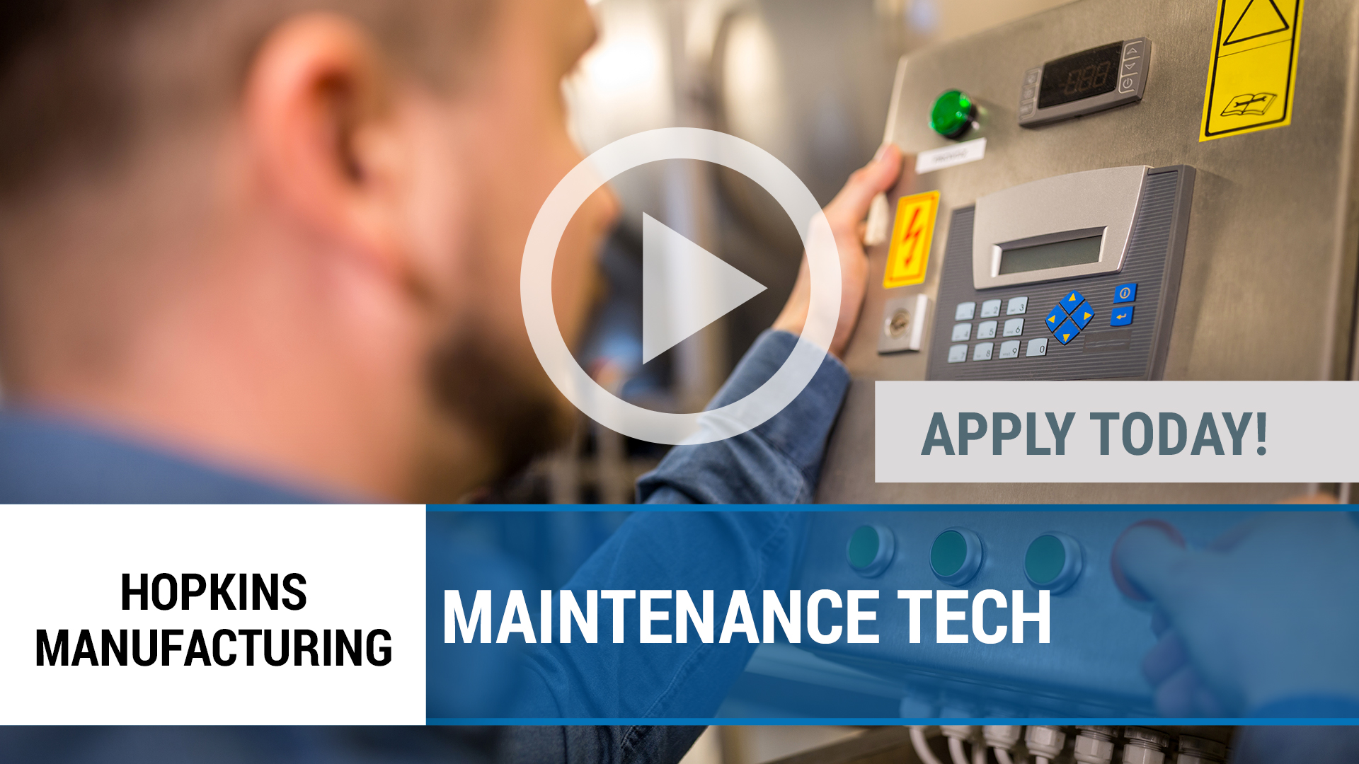 Watch our careers video for available job opening Maintenance Technician in Joplin, MO
