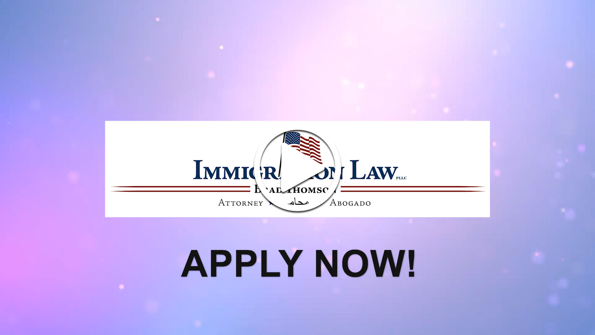 Watch our careers video for available job opening Spanish Speaking Immigration Attorney in Ann Arbor, MI, USA