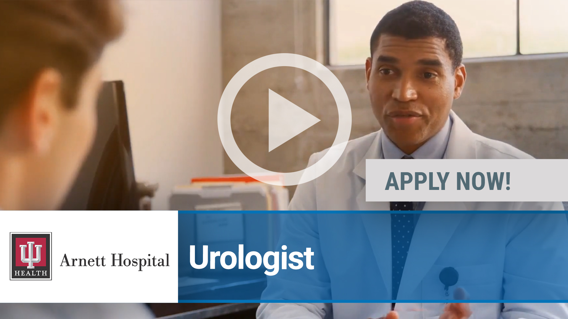 Watch our careers video for available job opening Urology Opportunity in Lafayette, IN, USA