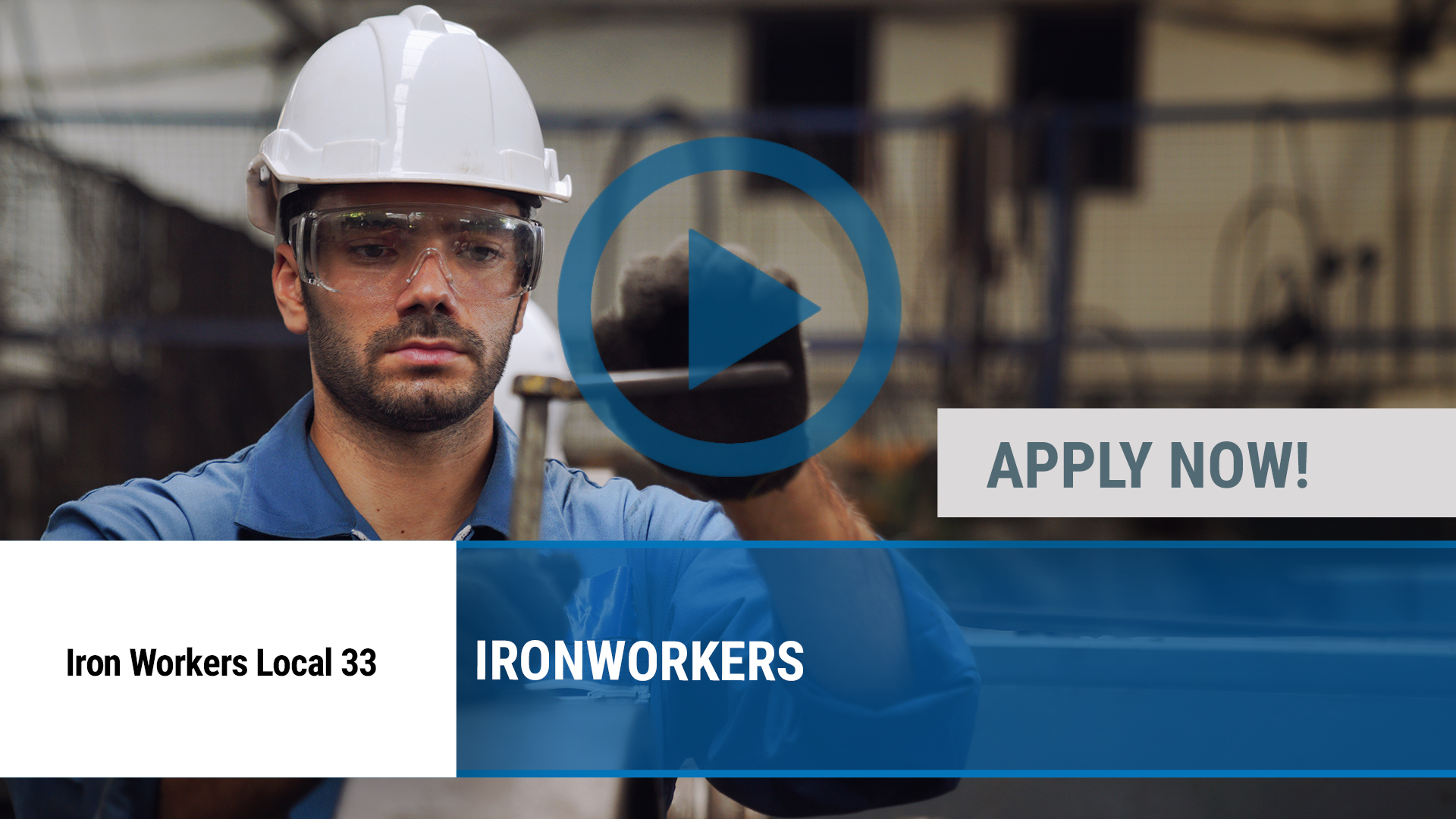 Watch our careers video for available job opening Ironworkers in Rochester, NY