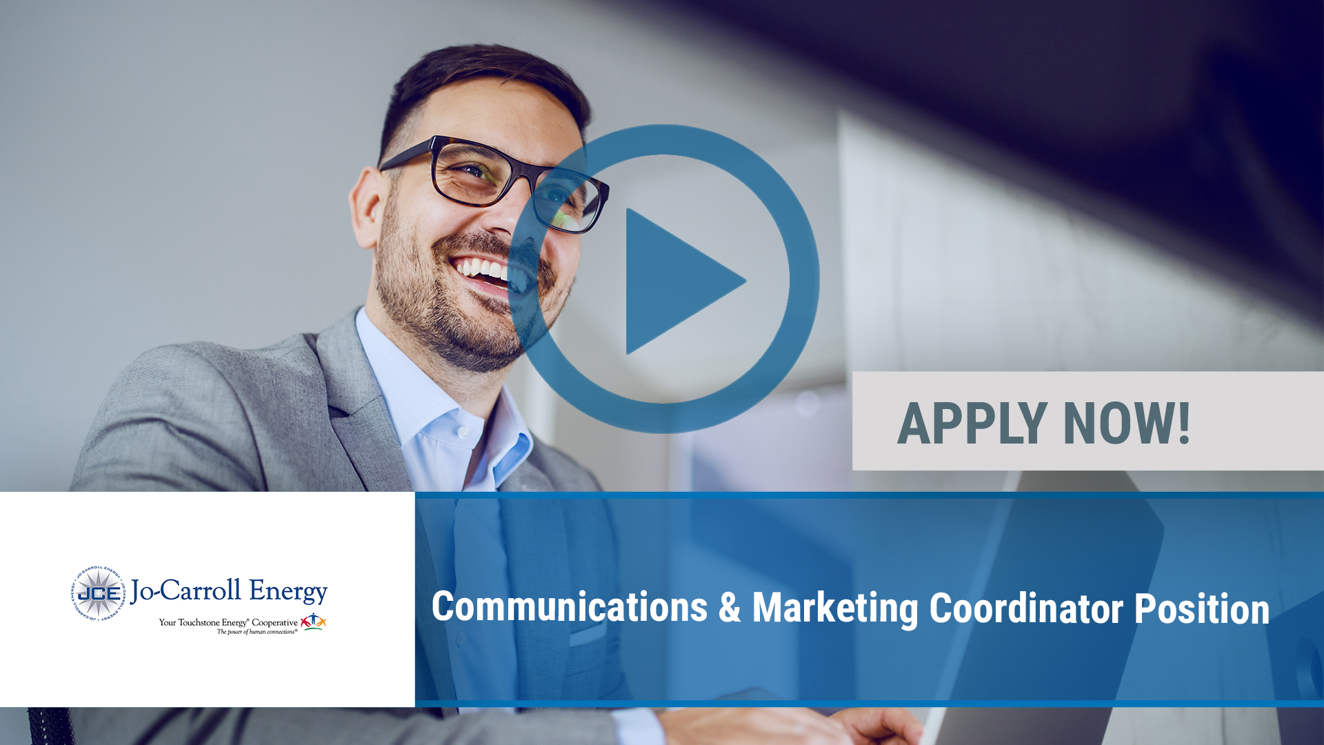 Watch our careers video for available job opening Communications & Marketing Coordinator Position in Elizabeth, IL
