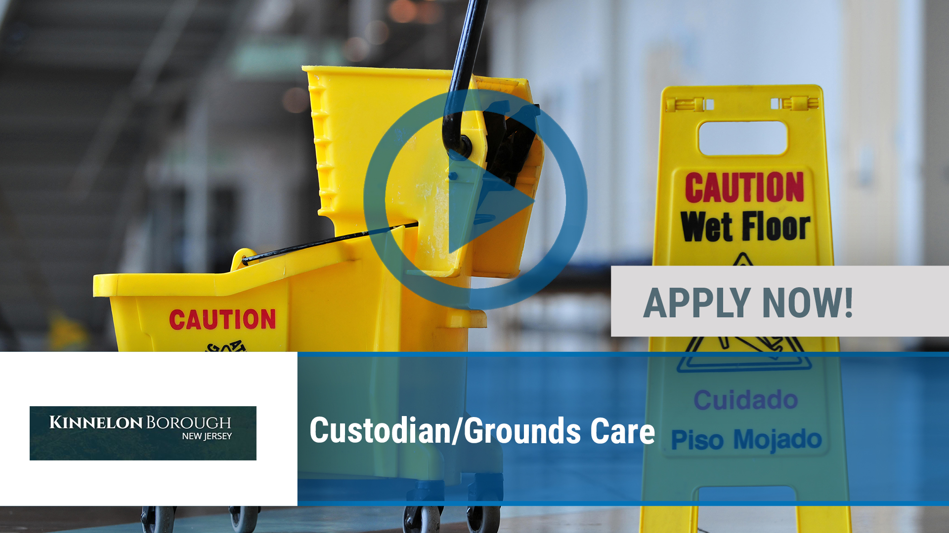 Watch our careers video for available job opening Custodian_Grounds Care in Kinnelon, NJ