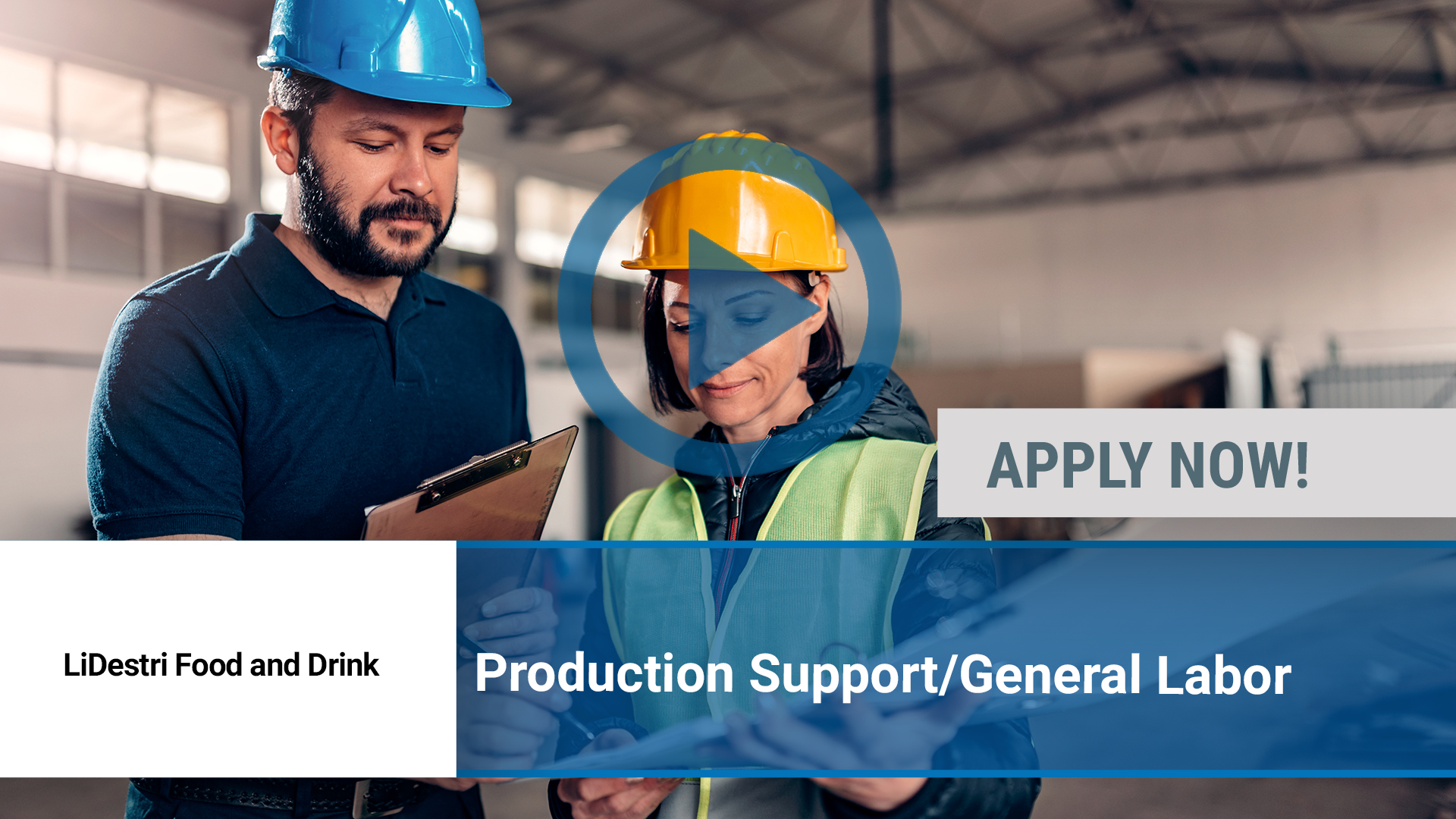 Watch our careers video for available job opening Production Support_General Labor in Fairpoint, NY