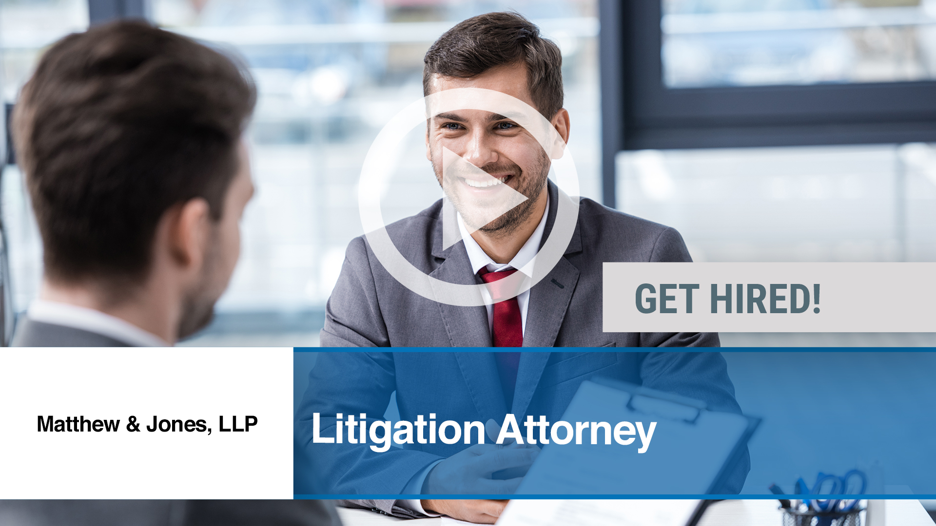 Watch our careers video for available job opening Litigation Attorney in Destin, FL