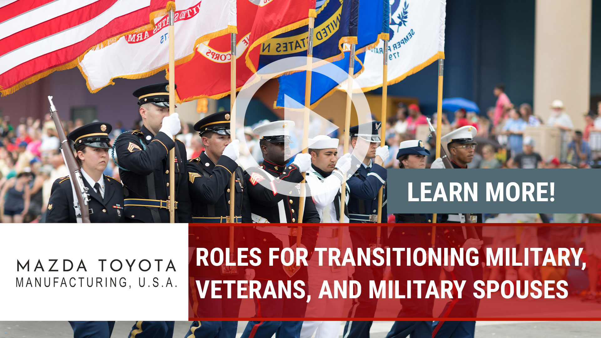 Watch our careers video for available job opening Roles for Transitioning Military, Veterans, and M in Huntsville, AL, USA