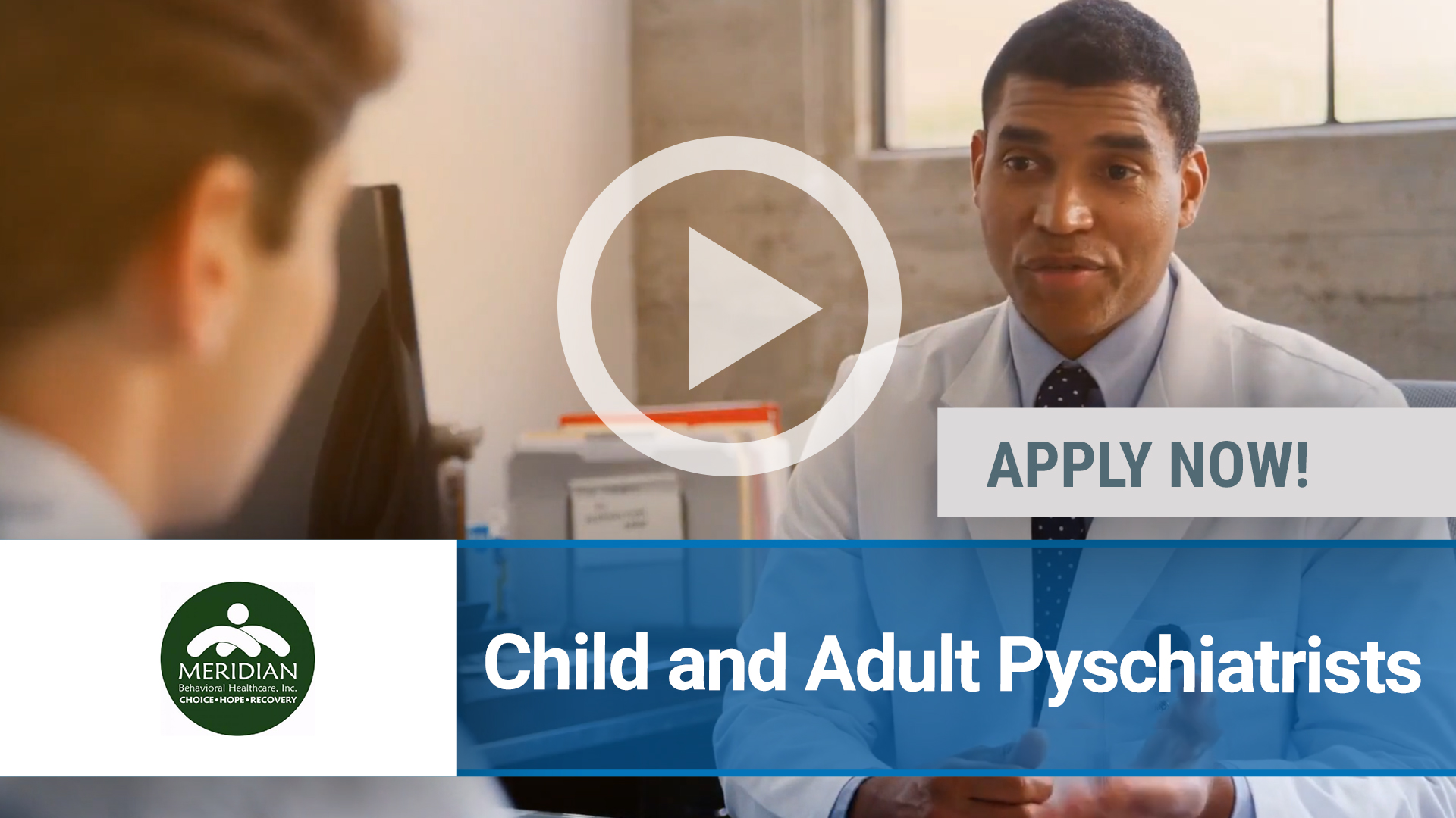 Watch our careers video for available job opening Child and Adult Psychiatrists  in Gainesville, FL