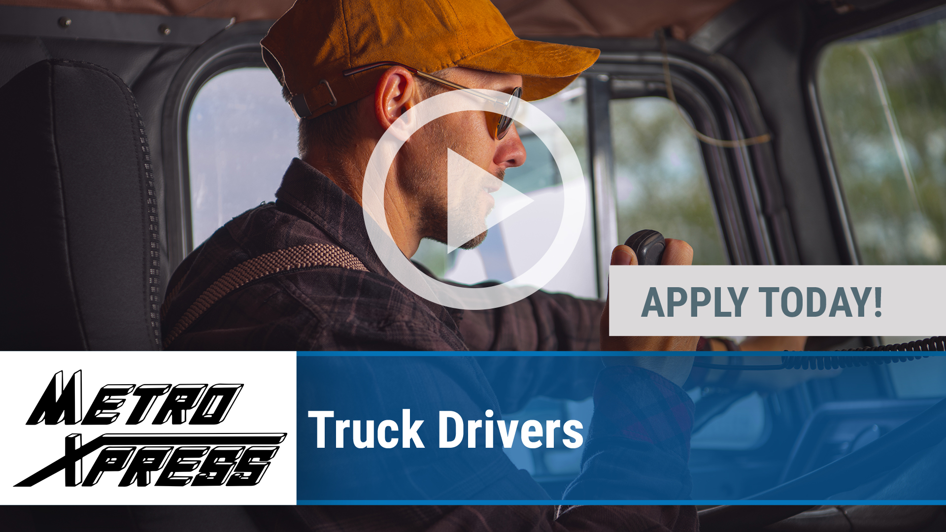Watch our careers video for available job opening Truck Drivers in Wichita, KS