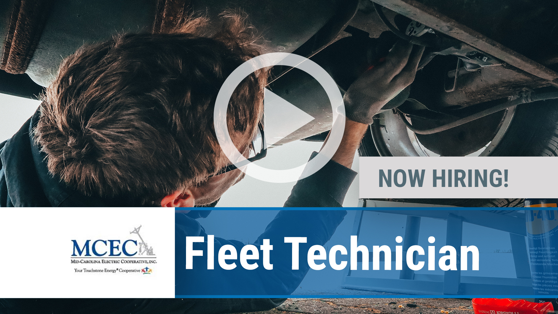 Watch our careers video for available job opening Fleet Technician in Lexington, SC