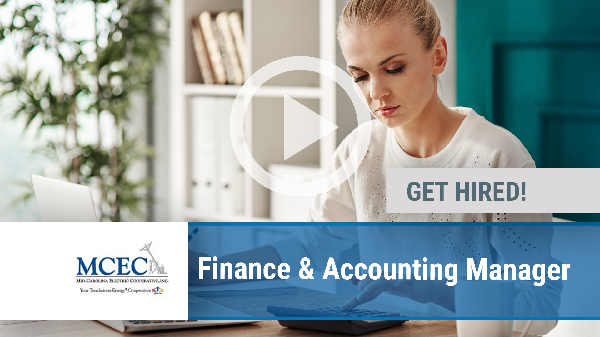 Watch our careers video for available job opening Finance & Accounting Manager in Lexington, SC