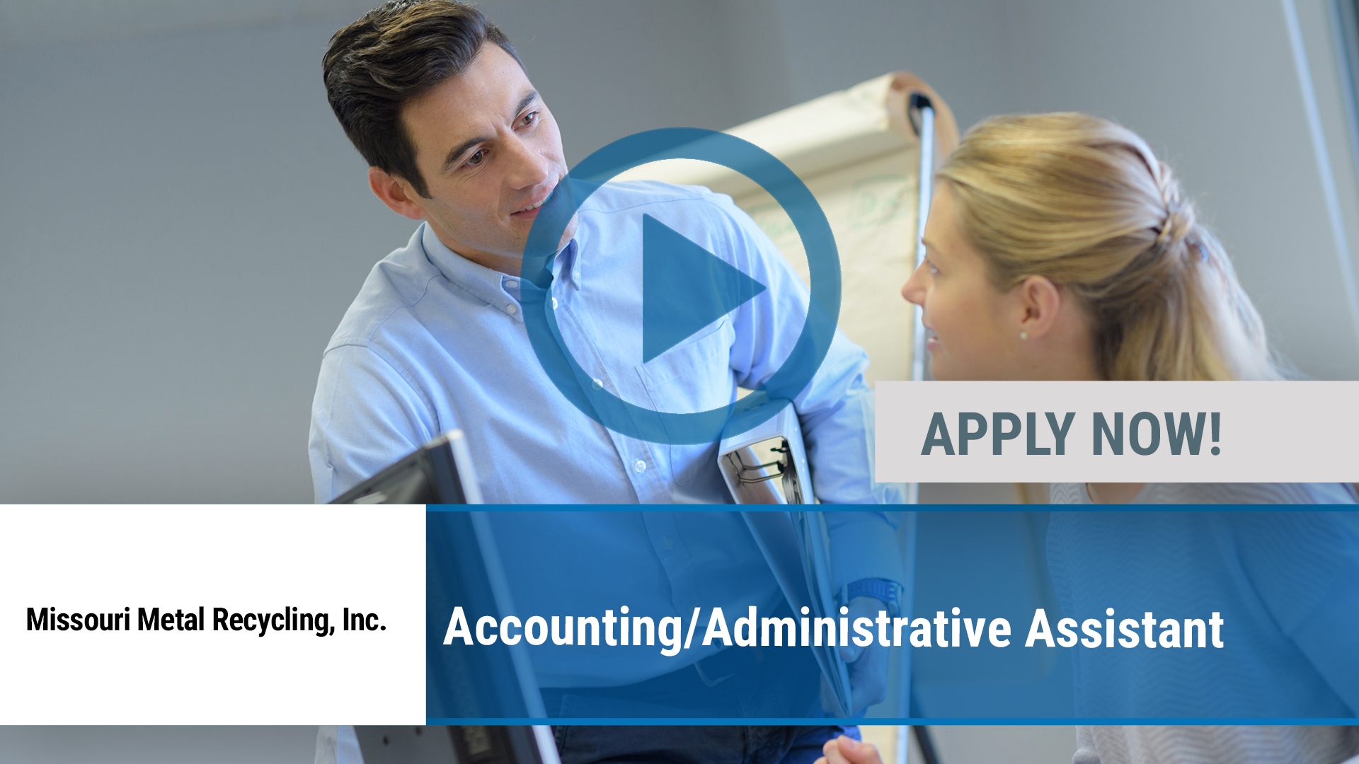 Watch our careers video for available job opening Accounting_Administrative Assistant in Joplin, MO