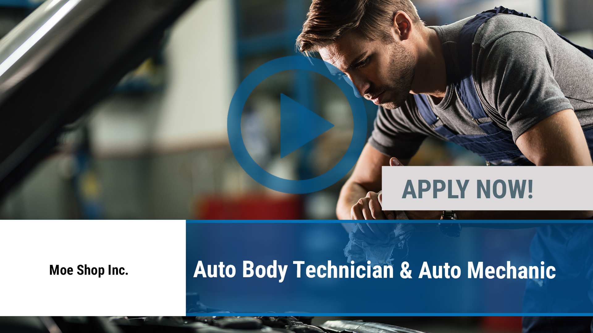 Watch our careers video for available job opening Auto Body Technician & Auto Mechanic in Dallas, TX