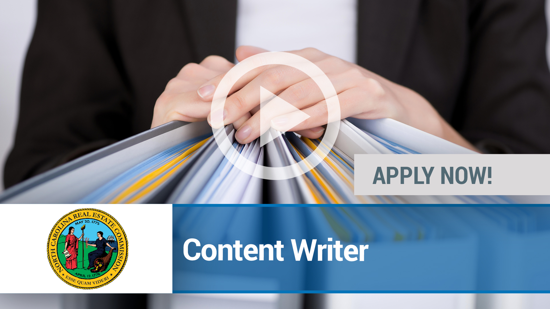 Watch our careers video for available job opening Content Writer in Raleigh, NC