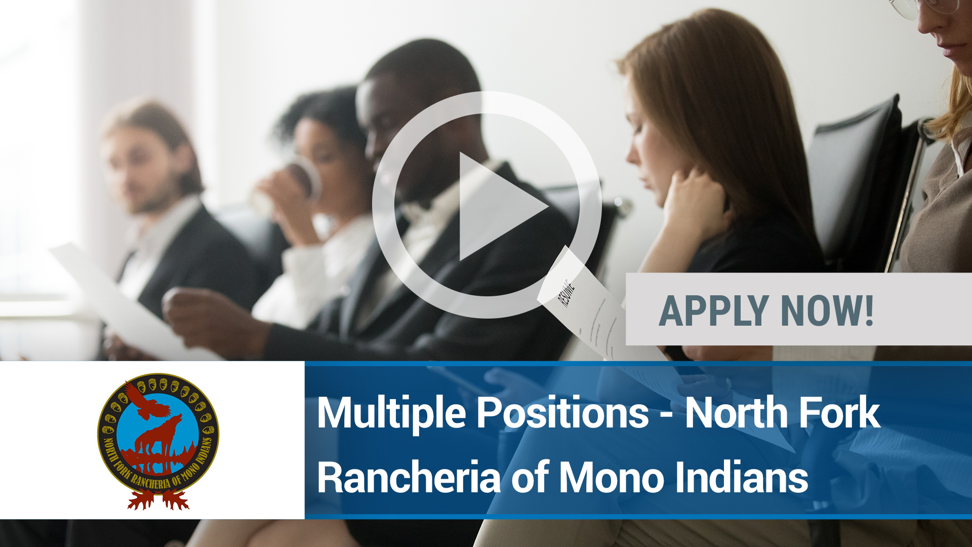 Watch our careers video for available job opening Multiple Positions - North Fork Rancheria of Mono in NORTH FORK, CA