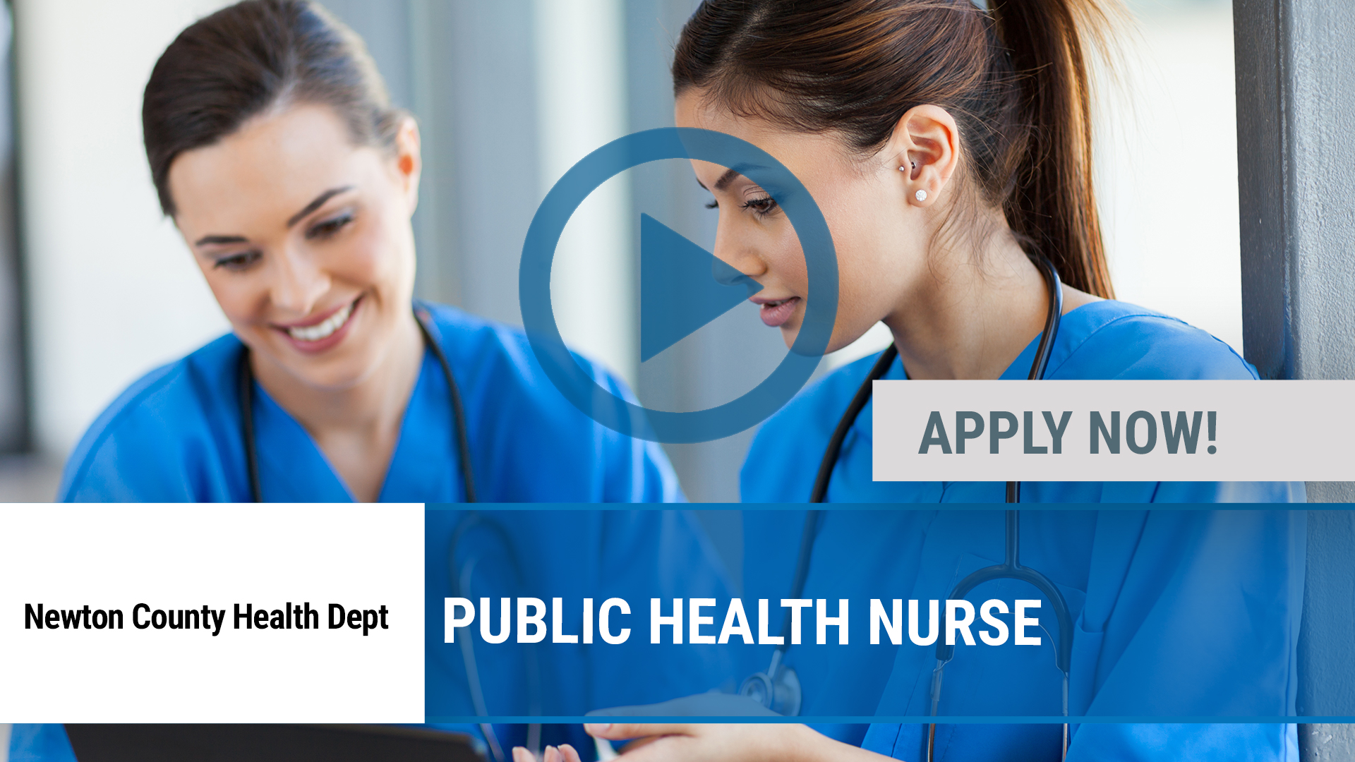 Watch our careers video for available job opening Public Health Nurse in Joplin, MO