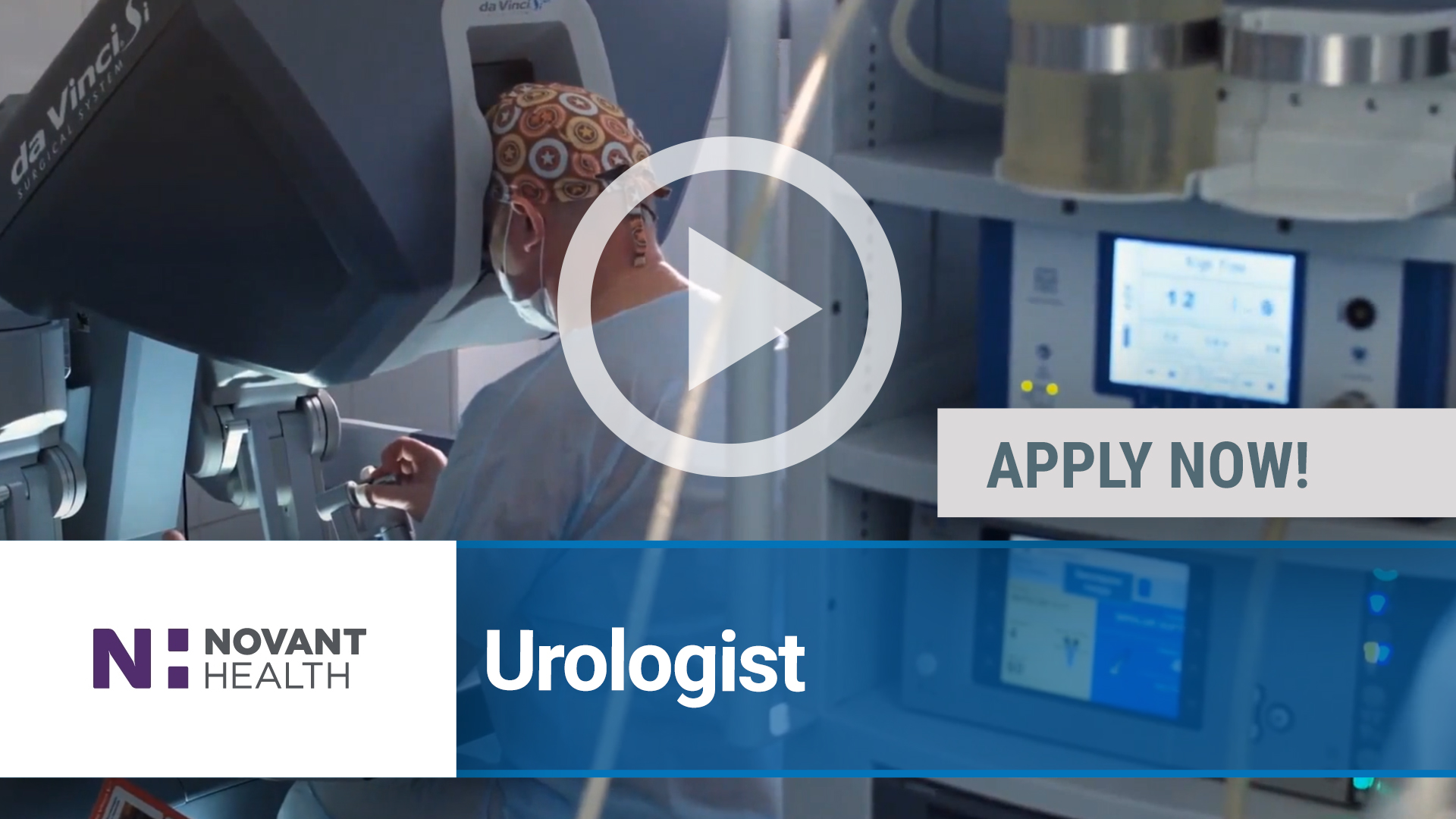 Watch our careers video for available job opening Urologist in Winston-Salem, NC, USA