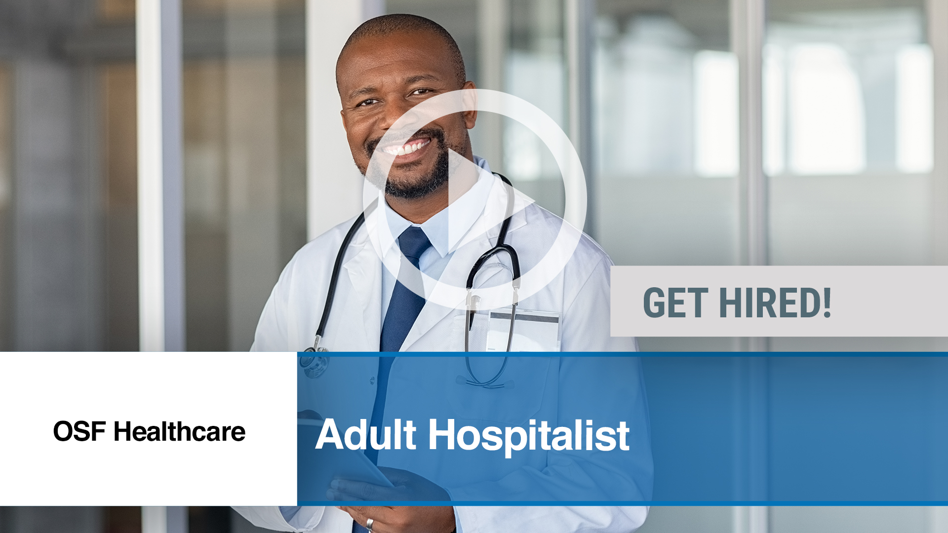 Watch our careers video for available job opening Adult Hospitalist in Peoria, IL