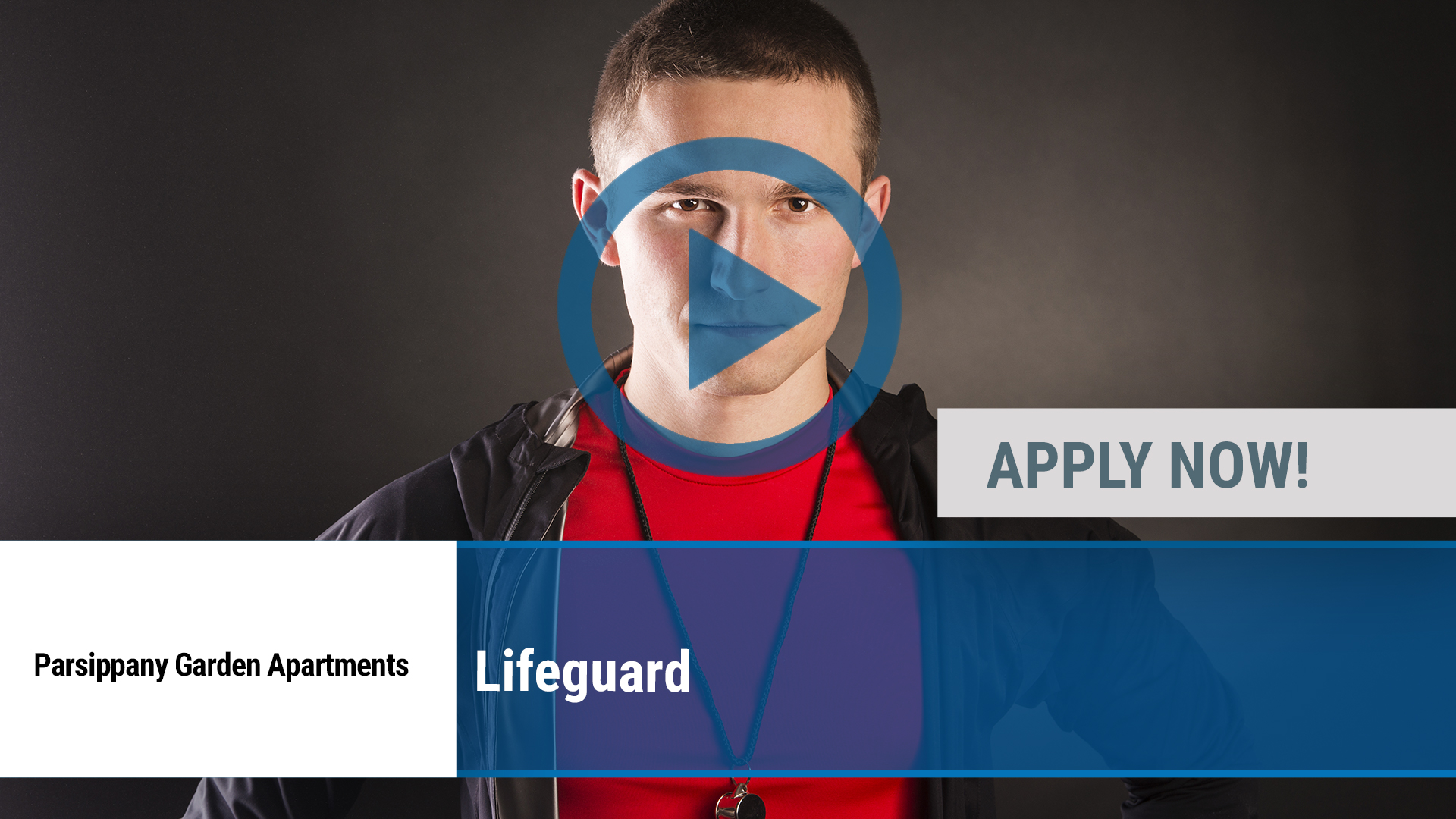 Watch our careers video for available job opening Lifeguard in Parsippany, NY