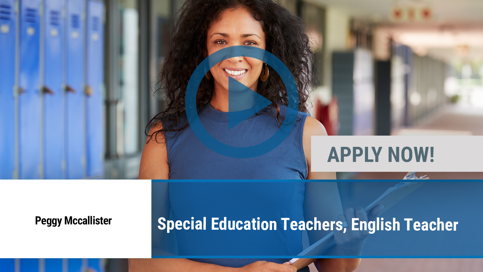 Watch our careers video for available job opening Special Education Teachers, English Teacher in Keeseville, NY