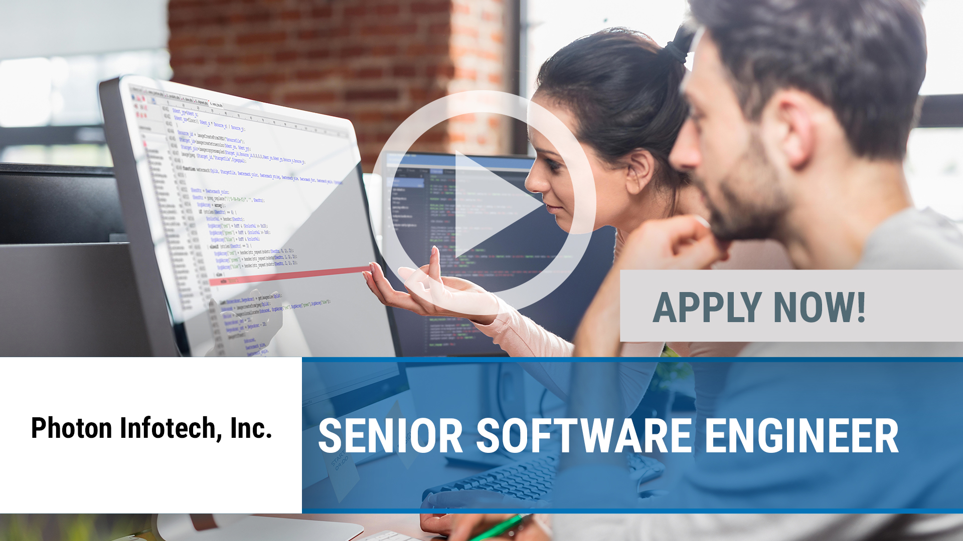 Watch our careers video for available job opening Senior Software Engineer in Dallas, TX