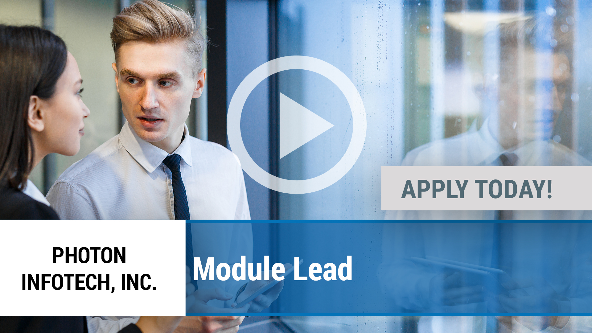 Watch our careers video for available job opening Module Lead in Dallas, TX