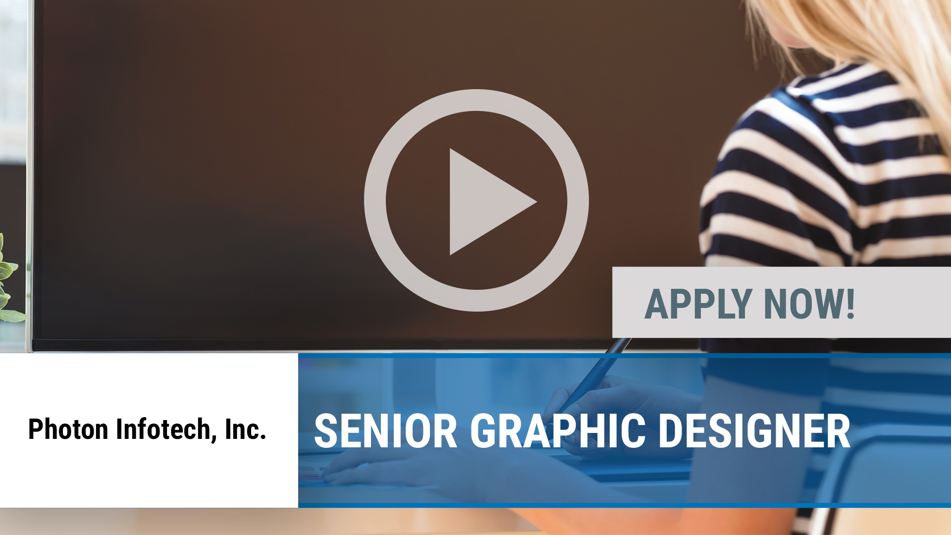 Watch our careers video for available job opening Senior Graphic Designer in Dallas, TX