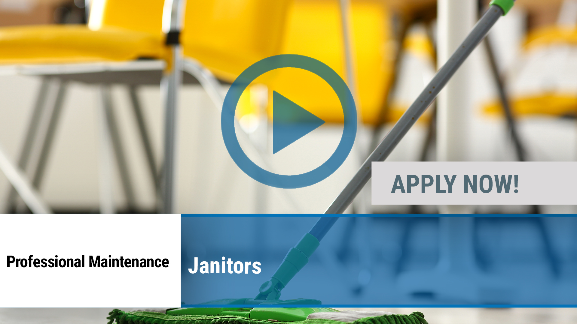 Watch our careers video for available job opening Janitors in Lubbock, TX