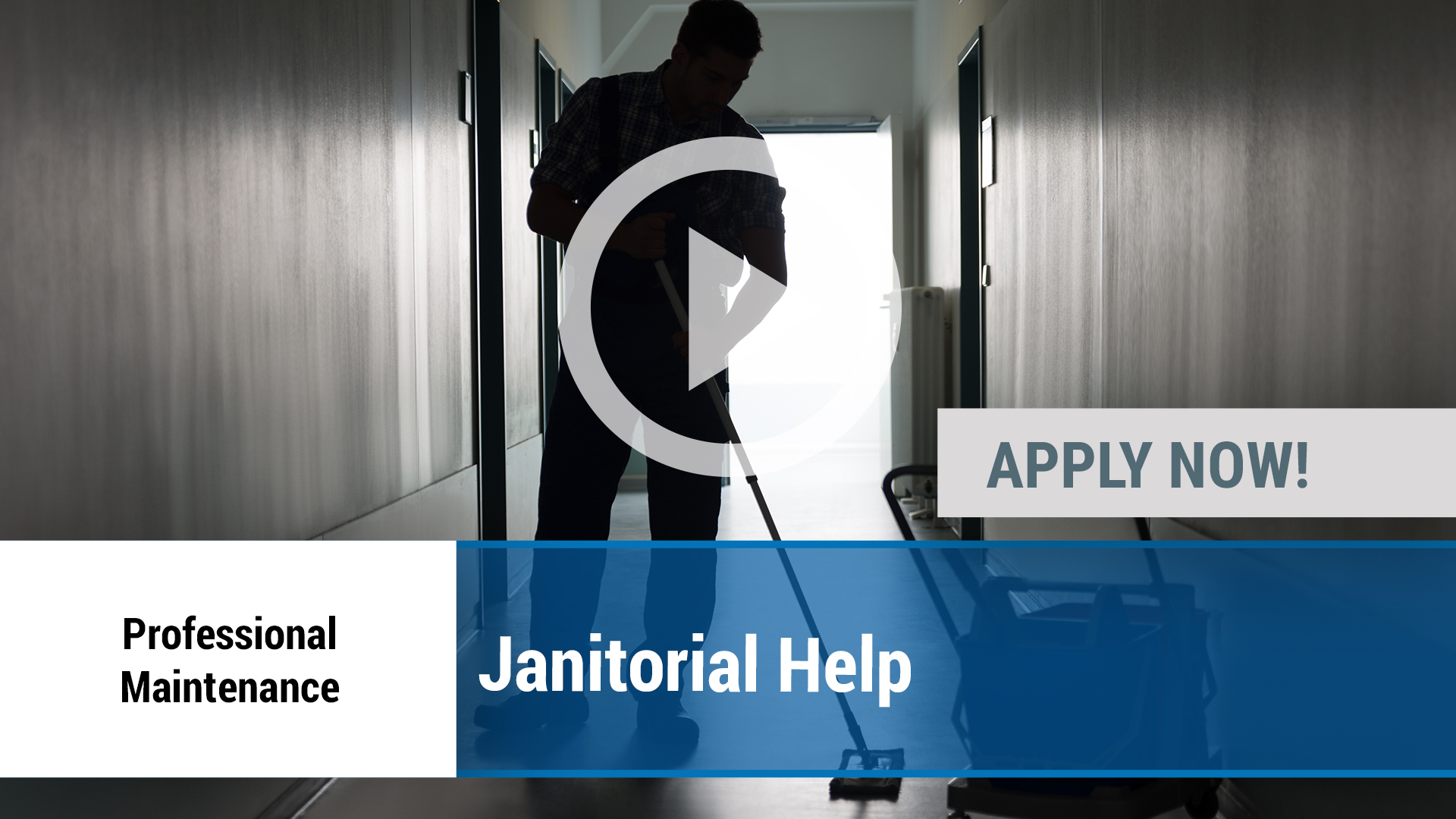 Watch our careers video for available job opening Janitorial Help in Lubbock, TX