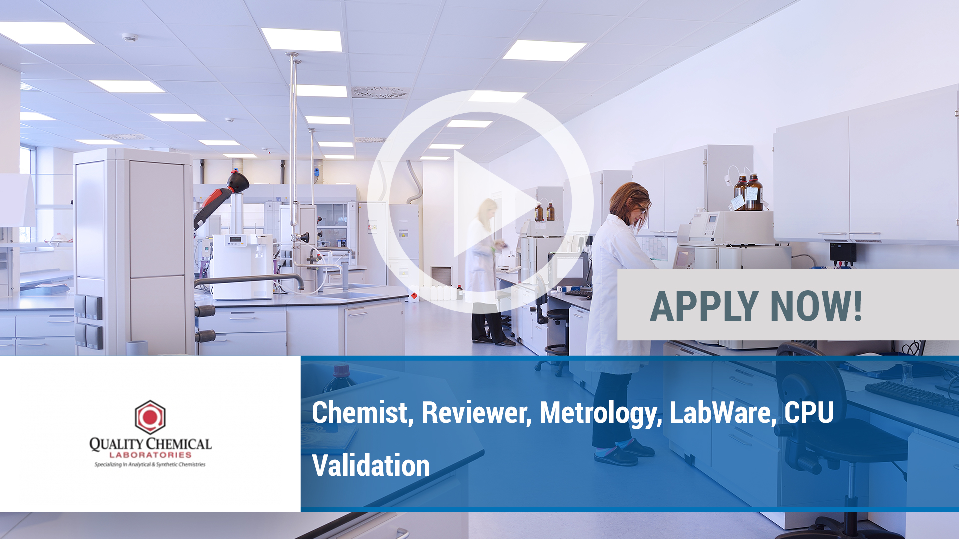 Watch our careers video for available job opening Chemist, Reviewer, Metrology, LabWare, CPU Valida in Wilmington, NC