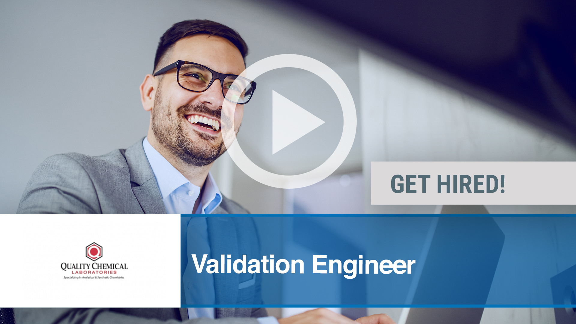 Watch our careers video for available job opening Validation Engineer in Wilmington, NC