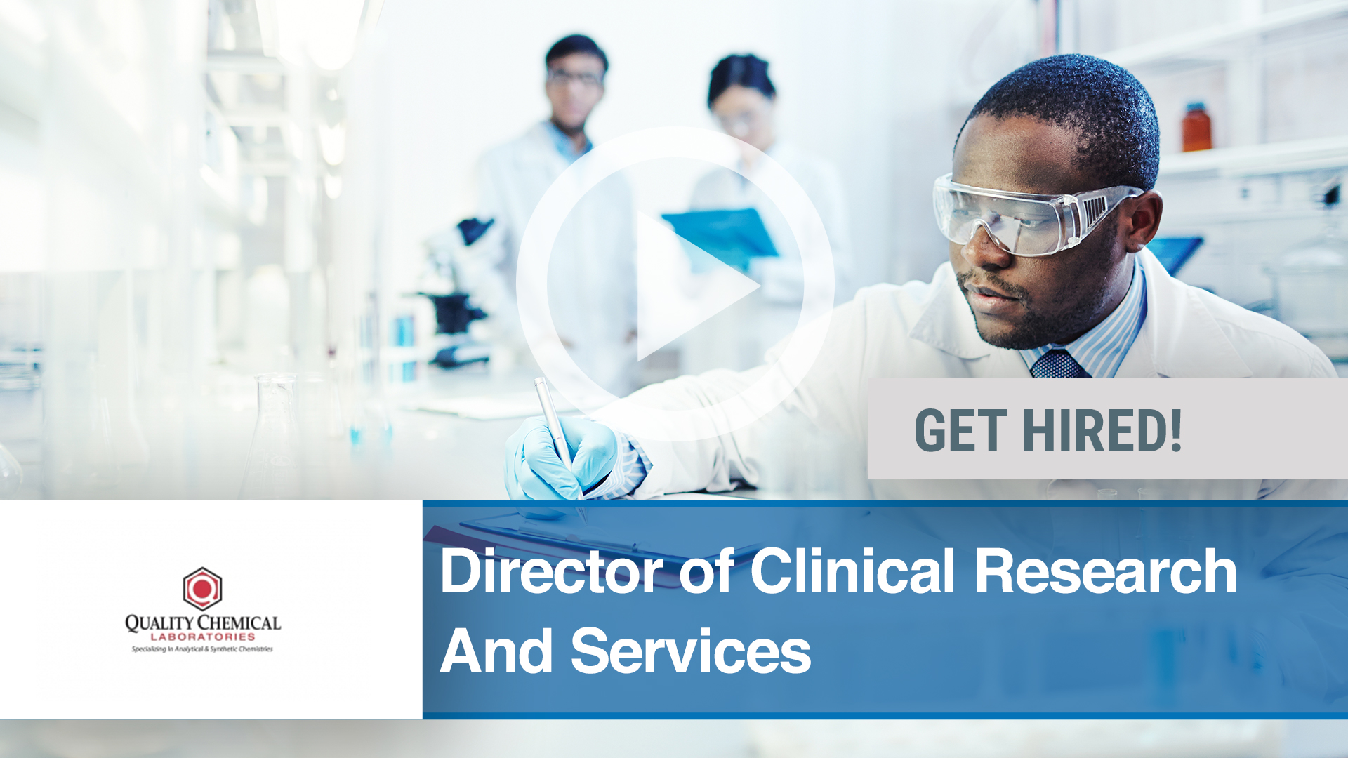 Watch our careers video for available job opening Director of Clinical Research and Services in Wilmington, NC